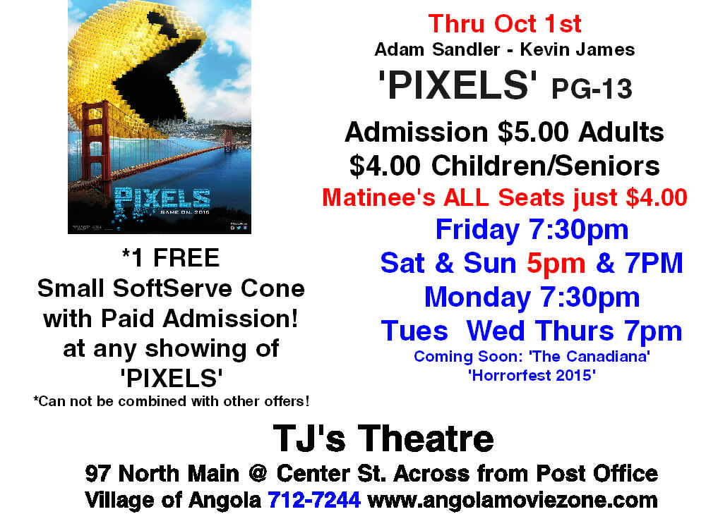 pixels sign